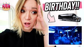 We got a PARTY Bus!! Vlogmas Day 8