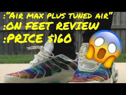 HOW TO LACE AIR MAX PLUS TUNED AIR 😱‼️ + REVIEW / ON FEET