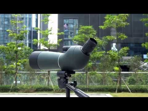 SV-28 Angled 20-60x60mm Zoom Spotting Scope