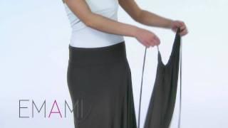 Безграничное платье-трансформер Emami (часть 2)