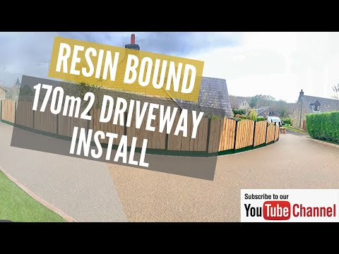 Resin Bound Driveway Driveway Installed In Olympus