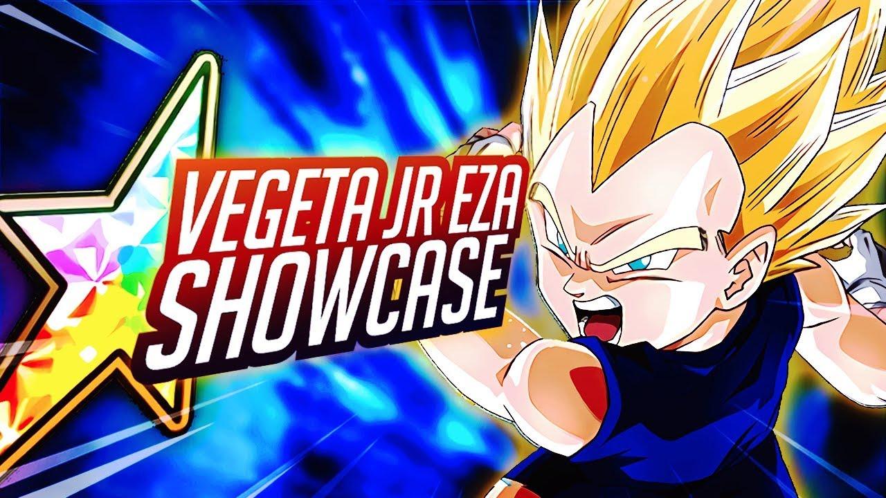 Brand New F2p 100 Vegeta Jr Eza Showcase Dragon Ball Z Dbz Dokkan Battle Youtube