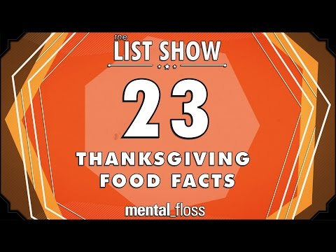 23 Thanksgiving Food Facts - mental_floss List Show (Ep. 232) video