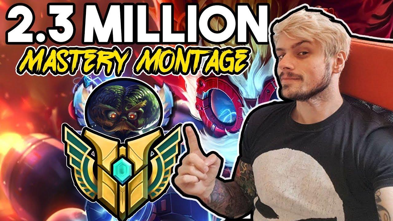REZONE - 2 3 MILLION MASTERY HEIMERDINGER MONTAGE! - League of Legends