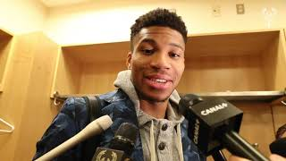 I Don't Look Into Stats. Giannis Antetokounmpo Postgame Press Conference | 12.21.19