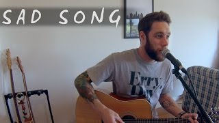sad song we the kings   sound made clearer cover