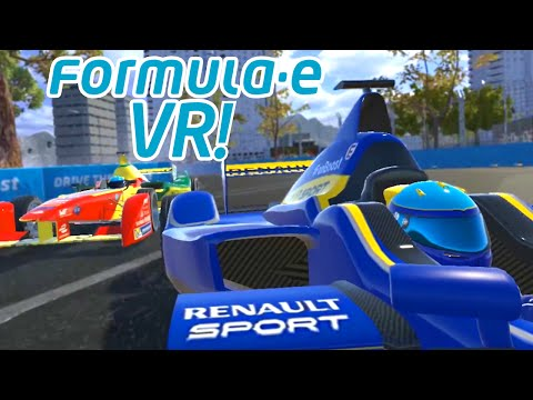 Watch Formula E In VR LIVE with Virtually Live!