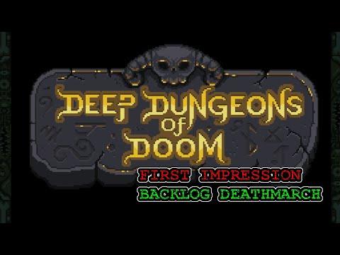 Deep Dungeons of Doom - First Impression Backlog Deathmarch  
