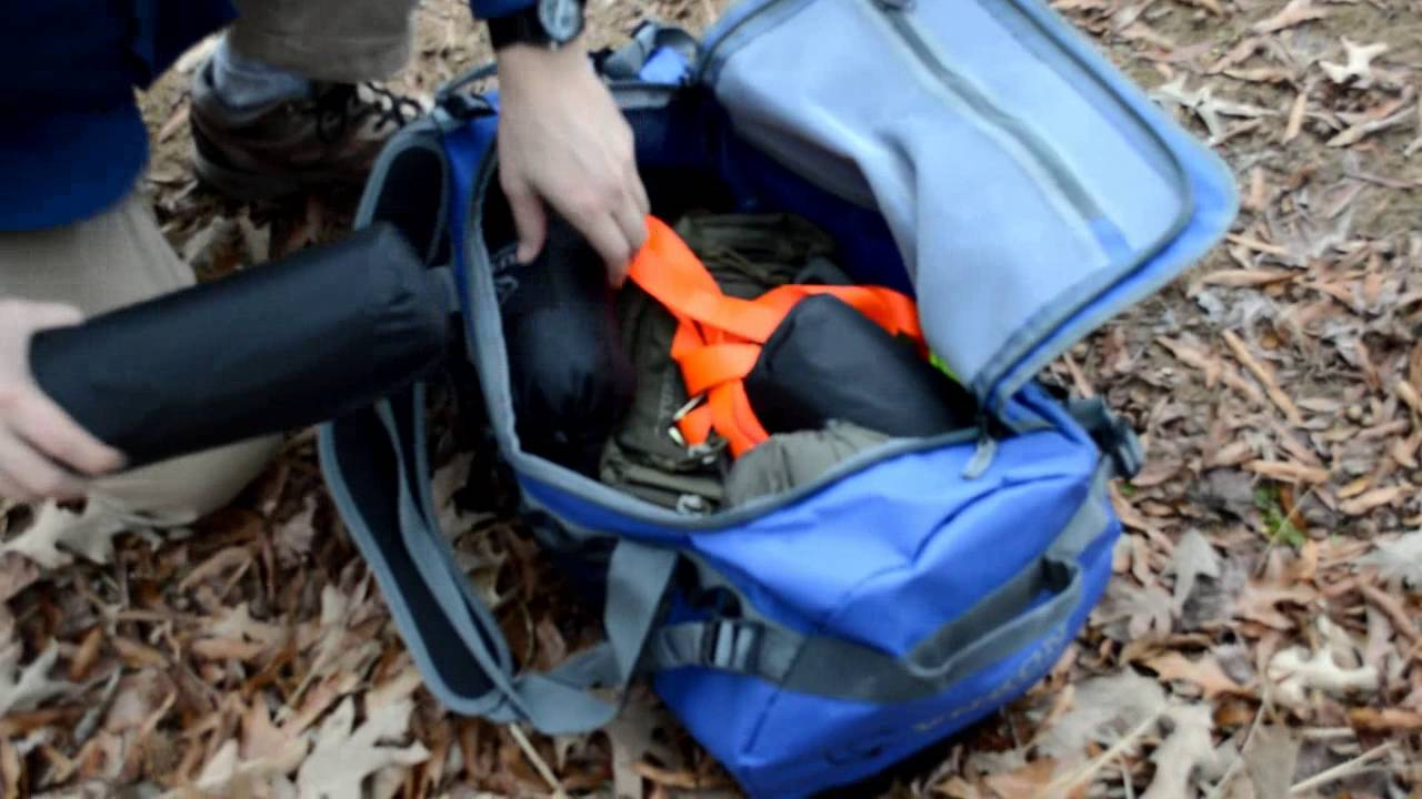 12024041d6cf Expedition Duffle - YouTube