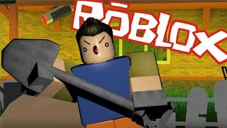 WHY IS MY NEIGHBOR SO EVIL! HELLO NEIGHBOR IN ROBLOX!
