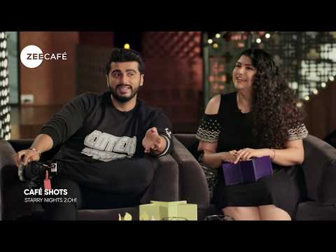 Café Shots | The Double Trouble with Arjun Kapoor | Starry Nights 2.OH!
