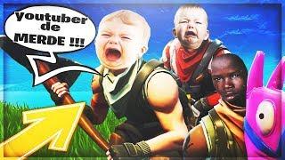 """1vs3 against a """"TEAM"""" of big rage! FORTNITE Battle Royale"""
