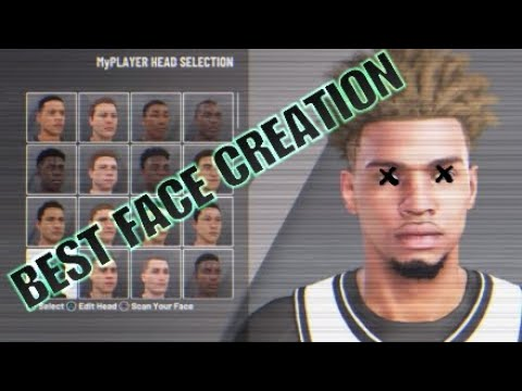 BEST 2K FACE CREATION TUTORIAL |NBA 2K20