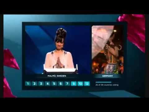 Evrovizion 2013 ses verme sehnesi