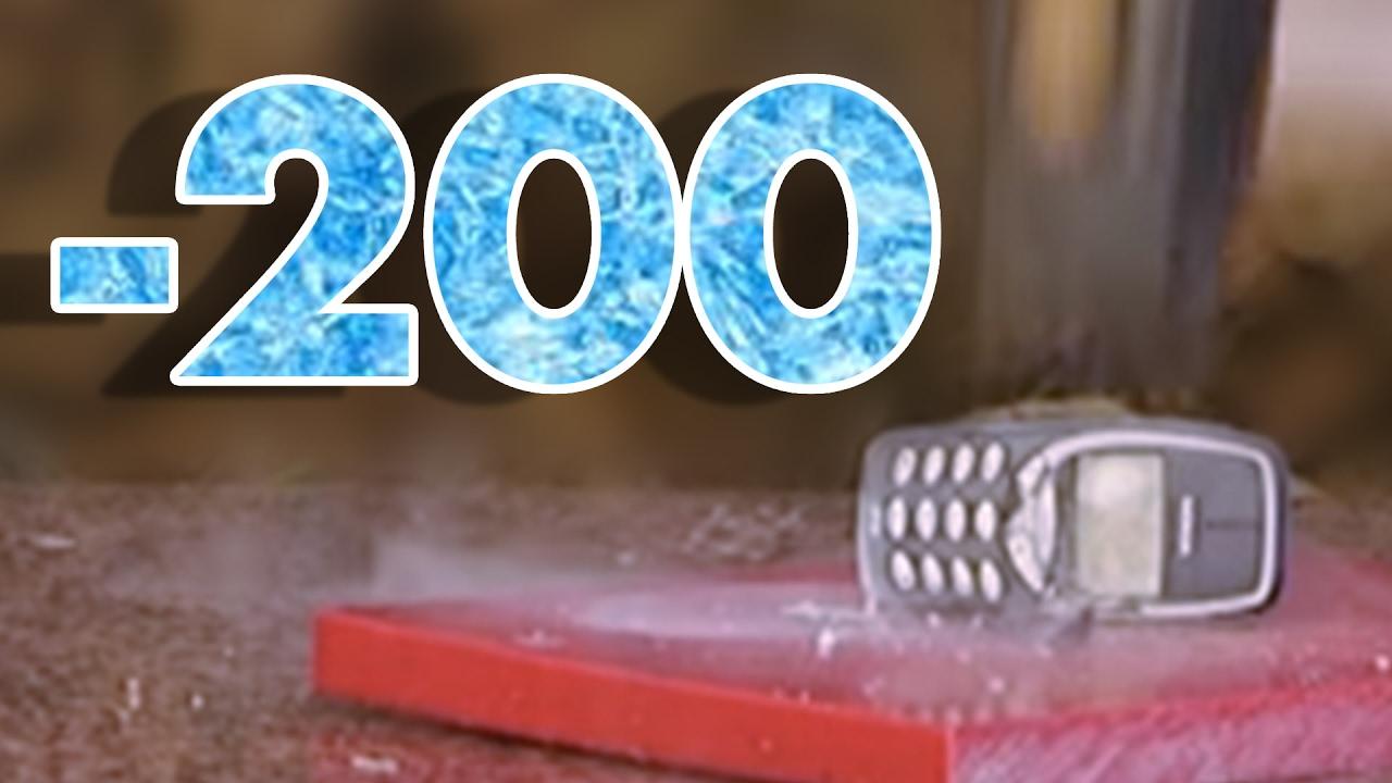 IPhone Ve Nokia 3310un Stne Sv Nitrojen Dktk 200 Derece
