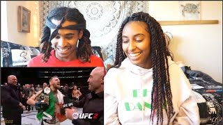 Conor McGregor Trash Talk and Funniest Moments TRY NOT TO LAUGH (Couples Reaction)| Bryan and Hibah