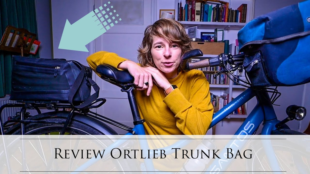 Ortlieb Trunk Bag vs Ultimate 6 Plus (handlebar) - BIKE PANNIER REVIEW