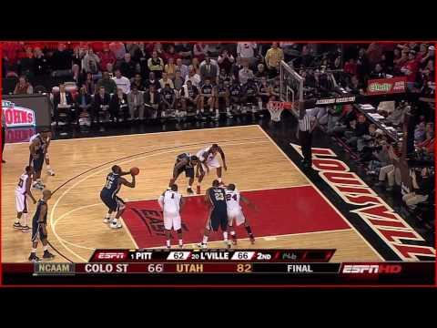 *HD* #20 Louisville Knocks Off #1 Pittsburgh (January 17th, 2009) *FINAL 45 SECONDS*