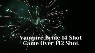 Vampire Bride 14 ShotGame Over 142 Shot BW1526&BW1530 2021 mass production