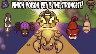 Taming.io Which Poison Pęt is The Strongest? - GAMEPLAY