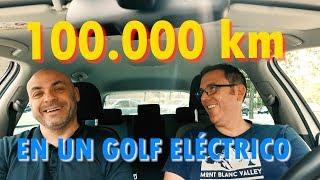 El E-Golf de Dani: 100.000 km a un coche eléctrico... ¡en tres años! - LA EXPERIENCIA