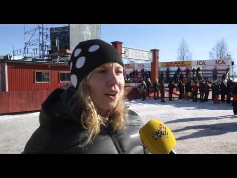 Julia Svans tårar efter tredjeplatsen i Tjejvasan