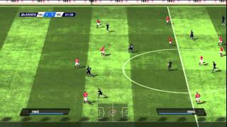 FIFA 11 Gameplay (PS3): Manchester United vs Manchester City