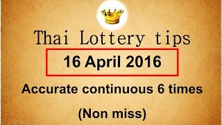 Thai lottery tips Best 3UP sure single digit formula (non miss)