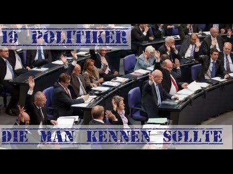 19 deutsche Politiker, die man kennen sollte