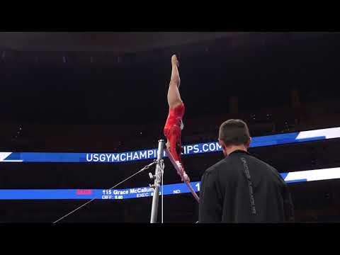 Morgan Hurd - Uneven Bars - 2018 U.S. Gymnastics Championships - Senior Women Day 1