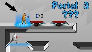 Portal 3 Флеш Игра Портал Portal The Flash Version