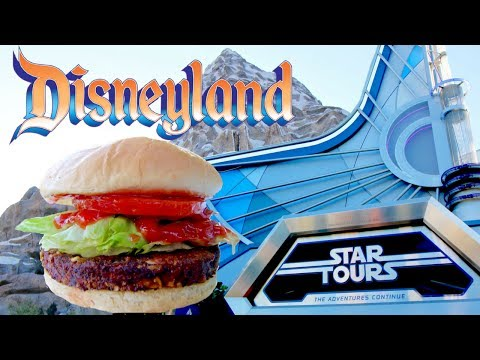 HOW TO ORDER VEGAN FOOD AT DISNEYLAND