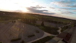 4K Aerial Test - Domino's Farm Ann Arbor Michigan - 3DR Iris+ GoPro Hero 4 Black