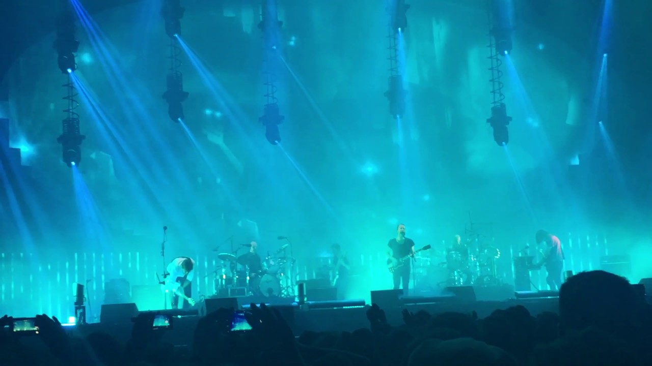 Radiohead Weird Fishes Arpeggi Visarno Arena Firenze