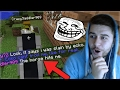 HE THOUGHT I WAS A KILLER HORSE! Funny Minecraft Player Pranks (Minecraft Trolling)