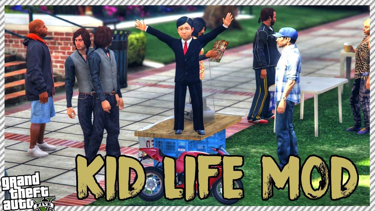 Download GTA 5 Kid Life Mod - Going to School | Buying New Toy Super Bike (GTA 5 REAL LIFE KID MOD)