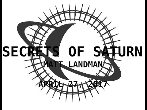 Secrets of Saturn - Episode 32 - Matt Landman - Amazing Chemtrail Activism - April 27, 2017