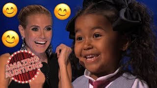 CUTEST Tyke STEALS The Judges Hearts | Amazing Auditions