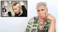 Hairdresser Reacts To Girls Going Blonde To Black With Box Dye
