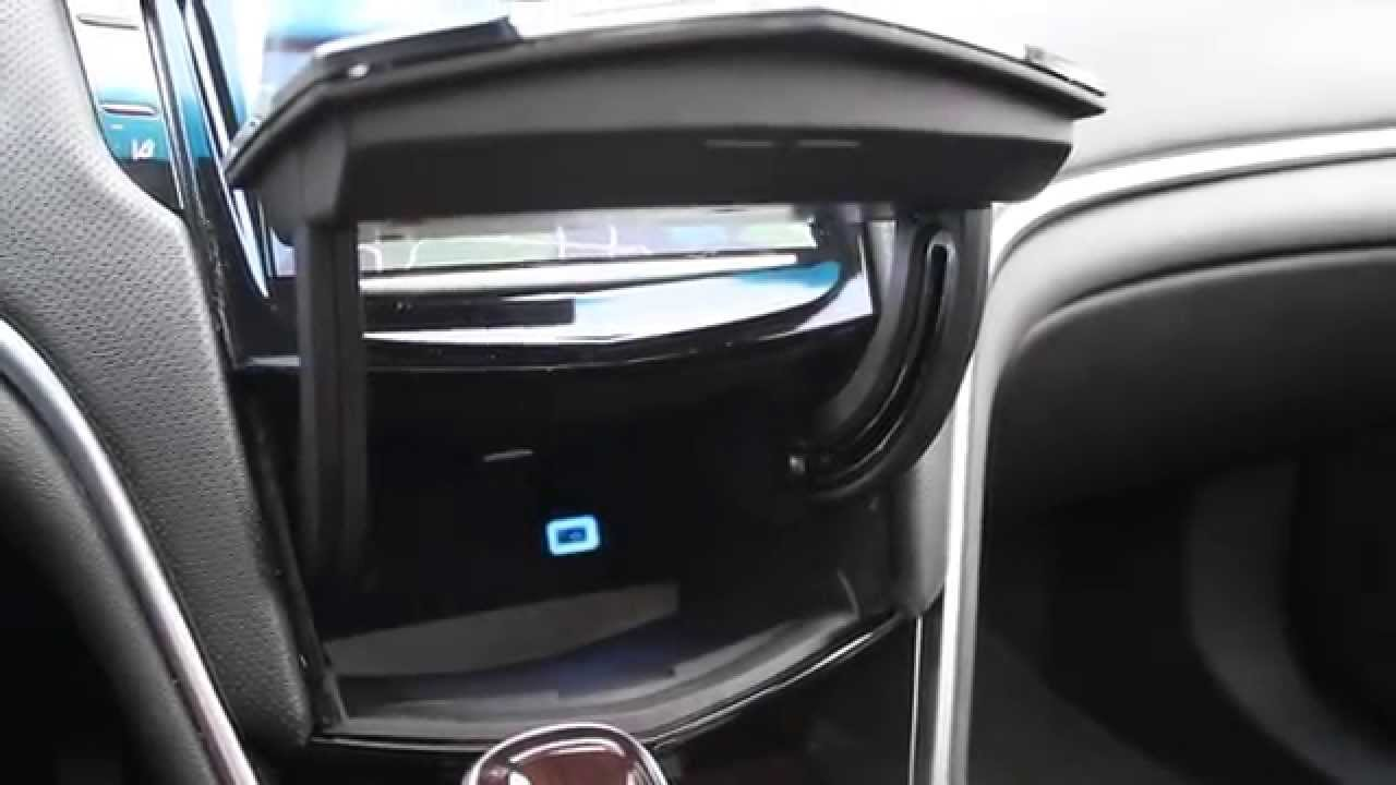 2013 cadillac xts interior hidden dash storage youtube 2013 mustang fuse box location