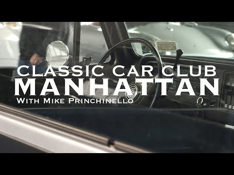 0 - Ein Herz für Autos: Die neue Unterkunft vom Classic Car Club in Manhattan