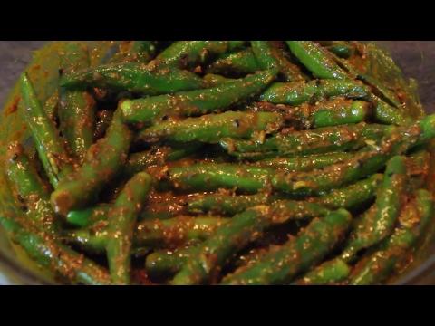 green chilli pickle / mirchi ka achar recipe