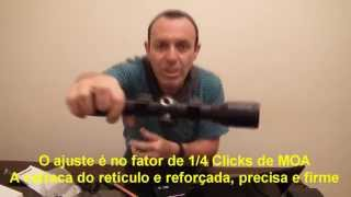 Review da Luneta Gamo 4 X 32 IR