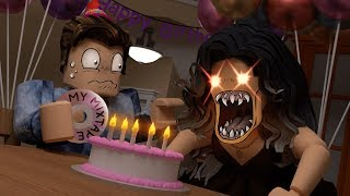 ROBLOX BIRTHDAY GIRL did not like it when I did THIS!