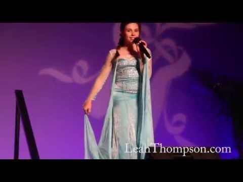 Leah Thompson singing