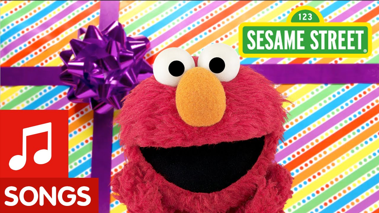 Sesame Street Elmo Happy Birthday Song