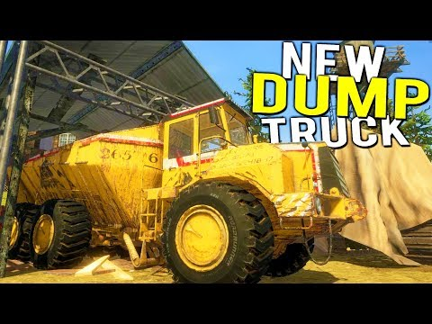 New TIER 3 MINING AREA + DUMP TRUCK and CONVEYOR BELT UPDATE! - Gold Rush Full Release Gameplay