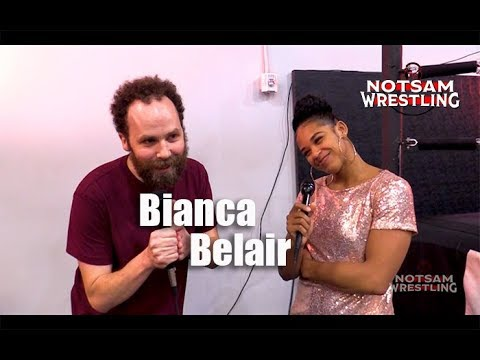 Bianca Belair Meets Sam Roberts - Comments, Getting To WWE, Being NXT Womens Champion, Etc