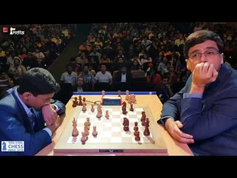 'The prodigy' Nihal vs 'The Legend' Anand | Tata Steel Chess India 2018