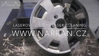 laser cleaning - laserové čištění (application examples)